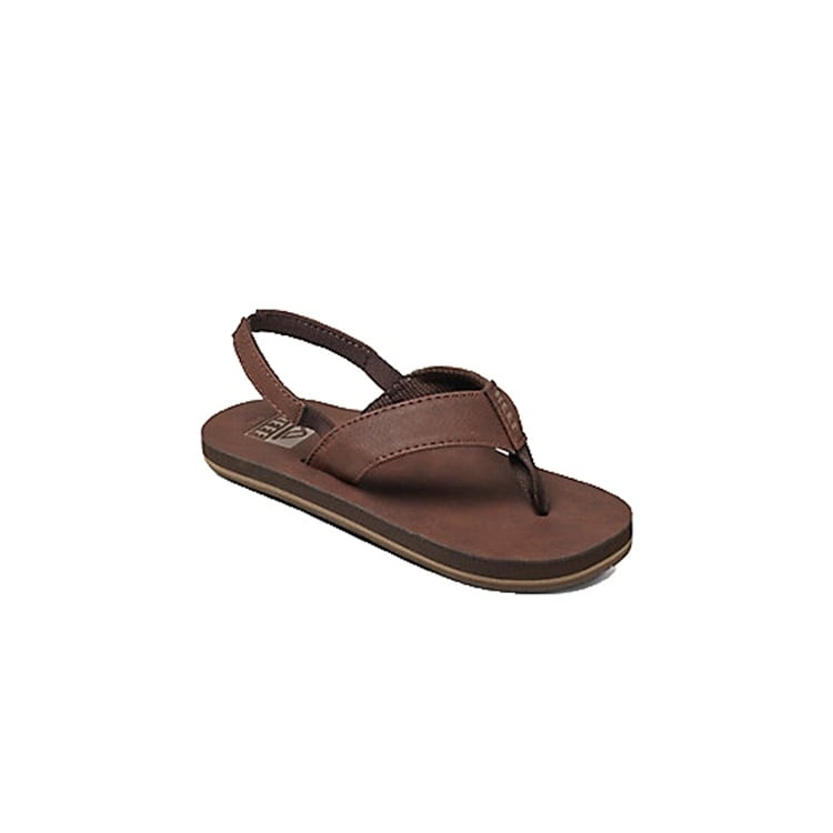 f2fe225d268 Shop Reef Mens Grom Smoothy Slip On Open Toe Flip Flops - On Sale ...