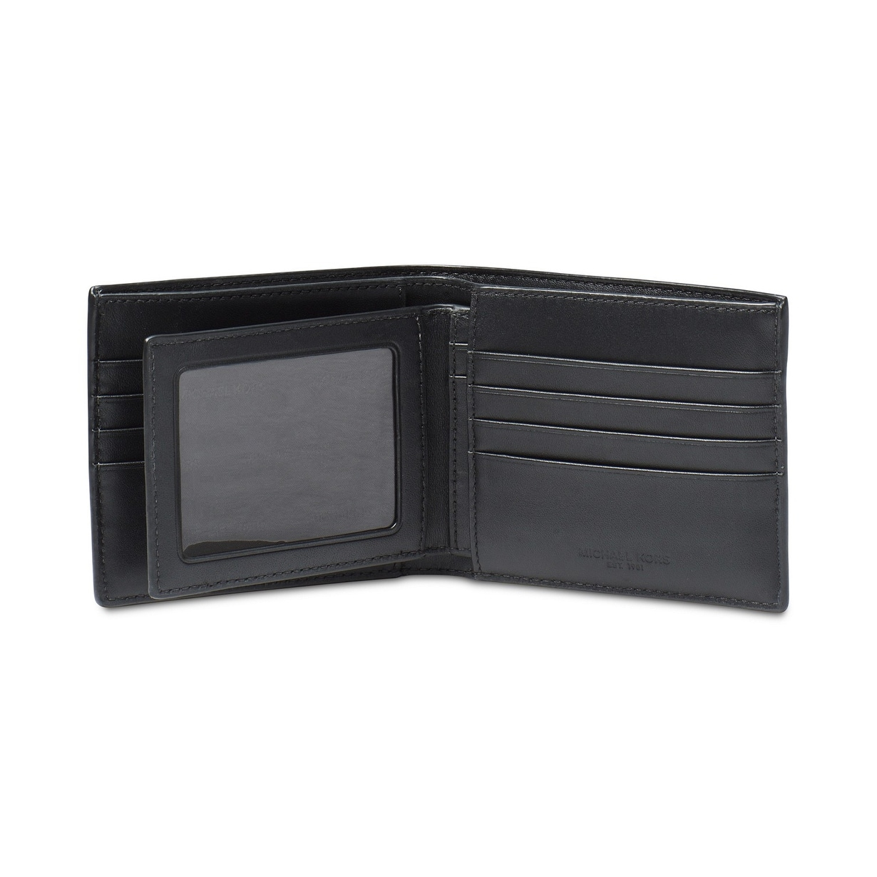 0fbef50f6e2a98 Shop MICHAEL Michael Kors Men's Jet Set Bifold Wallet - On Sale - Free  Shipping Today - Overstock - 25776117