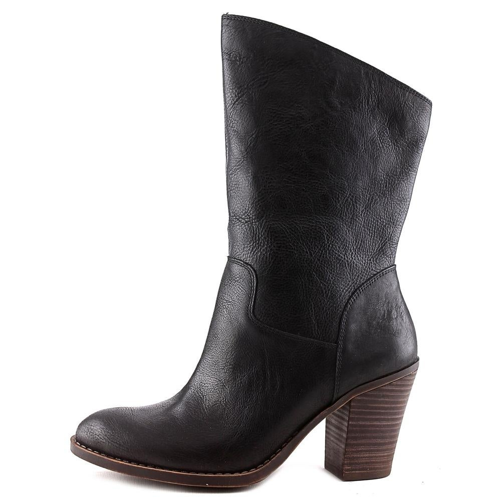 Lucky Brand Embrleigh Black Boots - Free Shipping On Orders Over $45 -  Overstock.com - 20241360