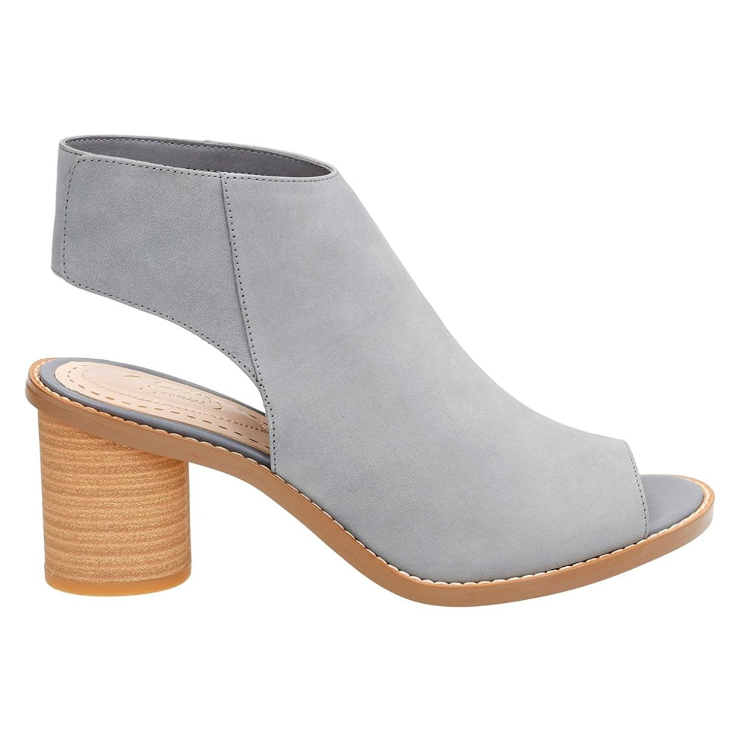 e7ff05516 CLARKS Womens Glacier Charm Leather Open Toe Ankle Fashion Boots Fashion  Boots