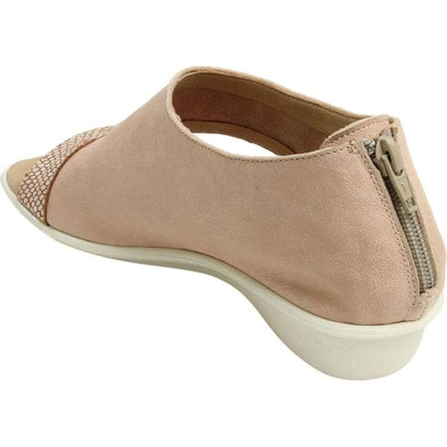 61069d4ea7c Shop Sesto Meucci Women's Everly Wedge Sandal Pale Pink Rocky/Pink ...