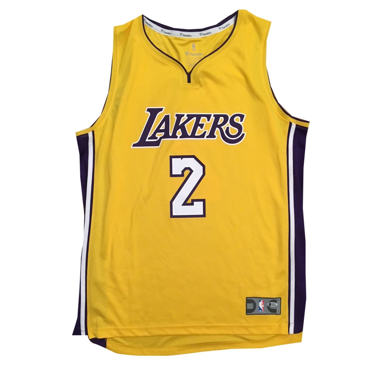 11b58dd60b3 Shop Lonzo Ball Autographed Los Angeles Lakers Signed Basketball Jersey  Beckett BAS COA 1 - Free Shipping Today - Overstock - 20534827