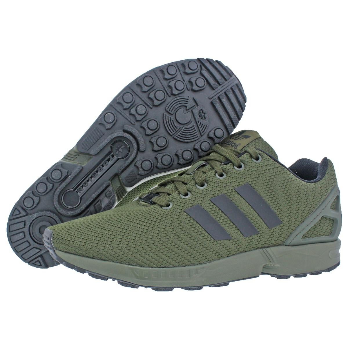 85ffc89b11508 Shop Adidas Mens ZX Flux Running Shoes Torsion Casual - 11.5 medium (d) -  Free Shipping Today - Overstock - 22338926
