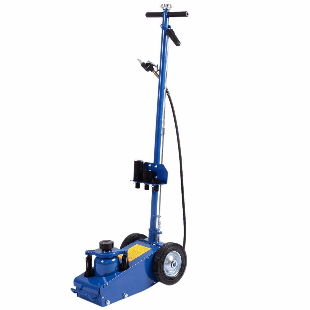 Shop Costway 22 Ton Air Hydraulic Floor Jack Repair Lifting Tool Parts Diagram Free Shipping Today 17157384