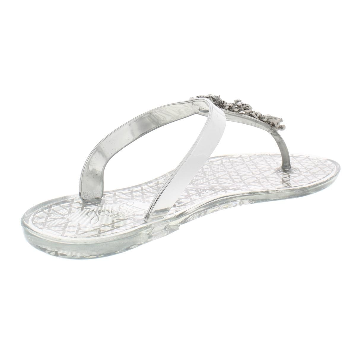873c1e820 Shop Jewel Badgley Mischka Womens Gracia Thong Sandals Jelly Flats - 7  Medium (B