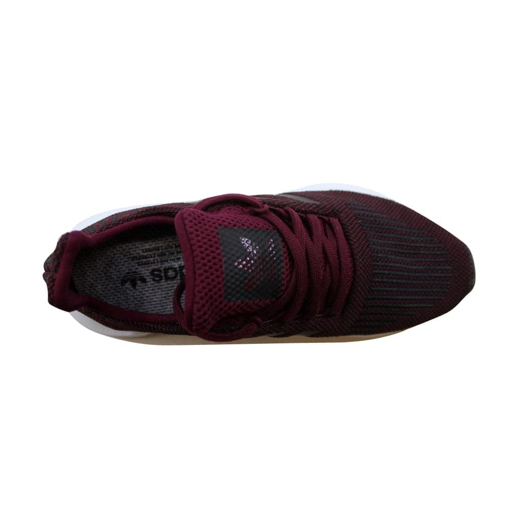 141b2c1c67a46 Shop Adidas Men s Swift Run Maroon Black-White CQ2118 - Free Shipping Today  - Overstock - 22531451