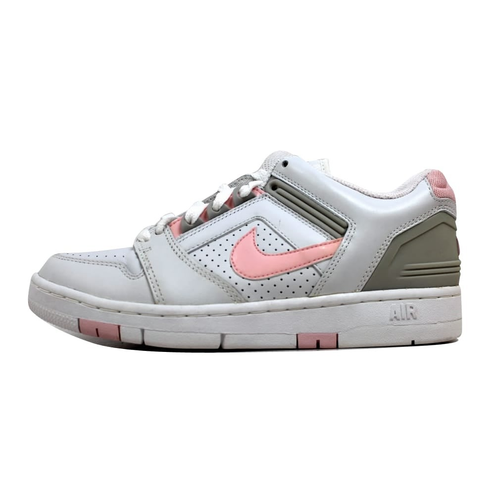 Nike Women's Air Force II 2 Low WhiteLight Carnation Neutral Grey 307877 161 Size 9