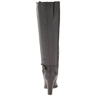 f41ea03b8ba Shop Enzo Angiolini Womens Sumilo Almond Toe Knee High Fashion Boots - Free  Shipping Today - Overstock - 14537706