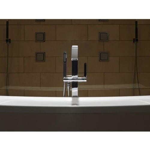 Shop Kohler K-T97330-4 Loure? Floor Mounted Bath Filler with Hand ...