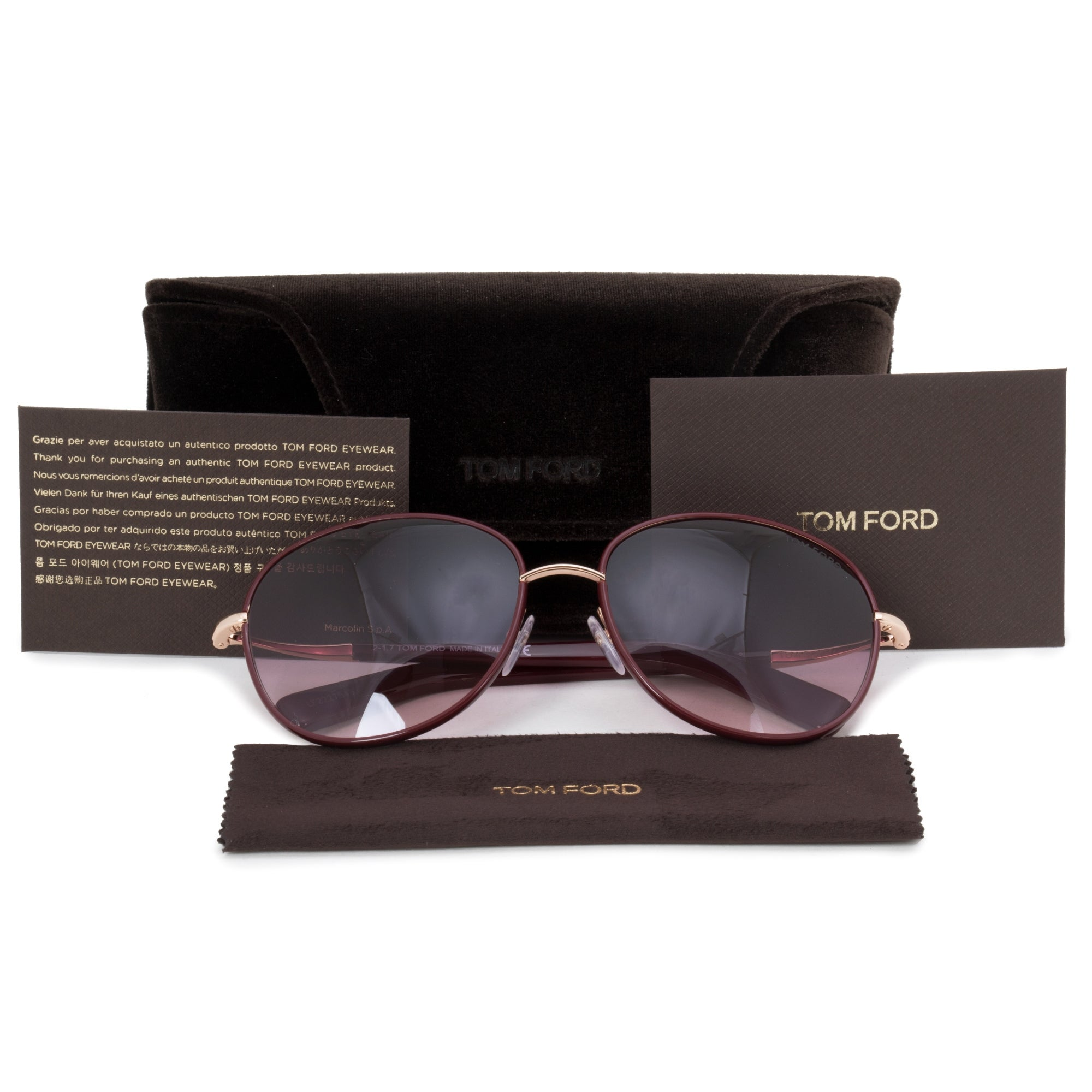 a6b9135756 Shop Tom Ford Georgia Oval Sunglasses FT0498 69T 59 - On Sale - Free  Shipping Today - Overstock - 23138976