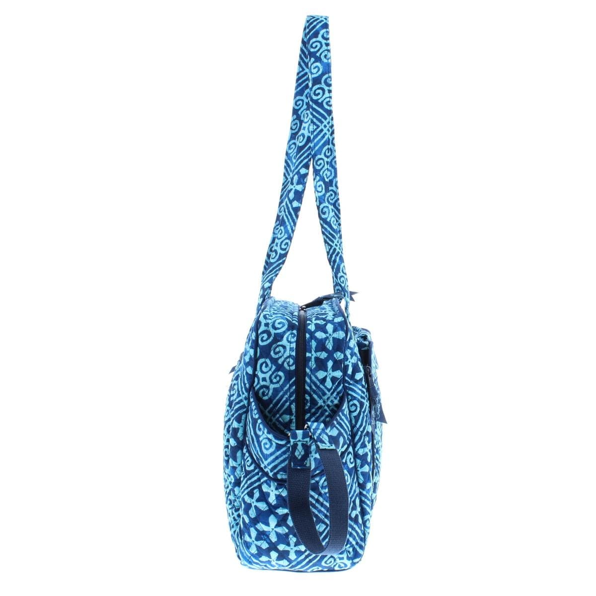 Shop Vera Bradley Womens Stroll Around Baby Diaper Bag Quilted Printed -  Free Shipping Today - Overstock - 22733862 5294fae72820f