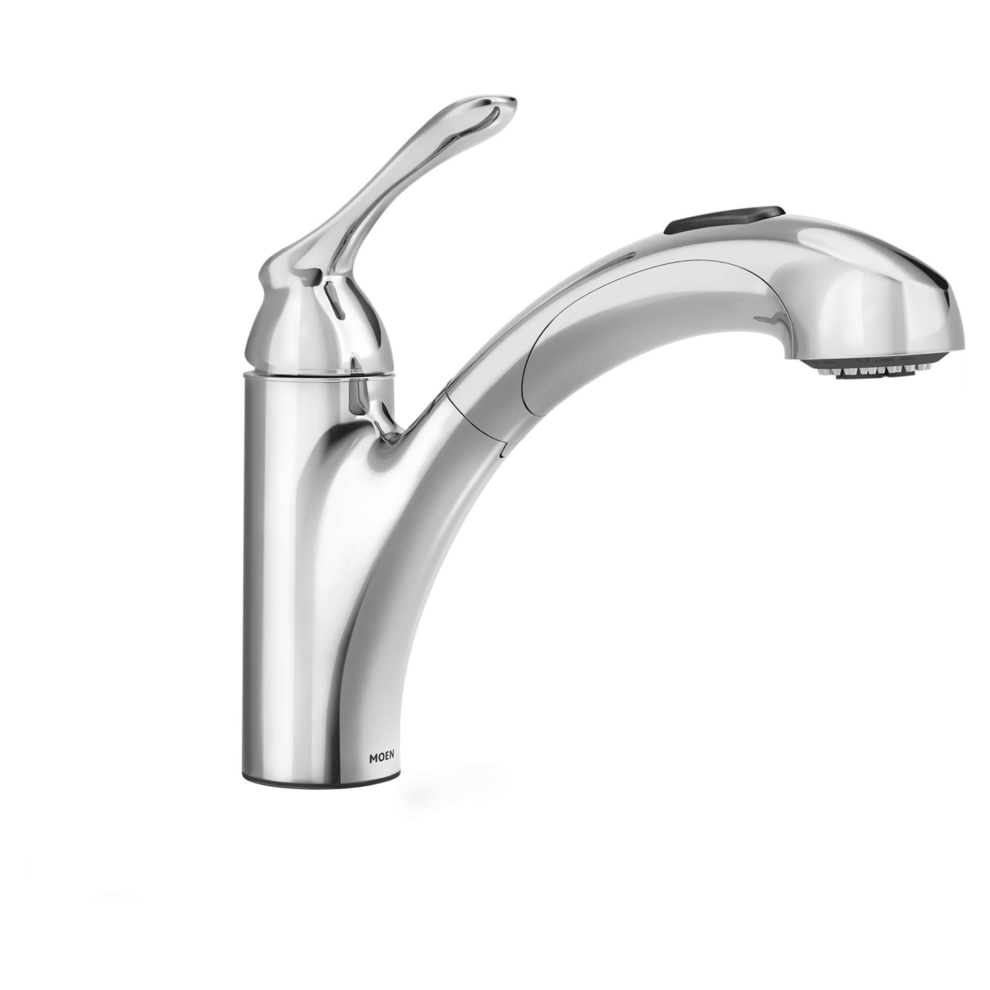 Moen 87017 Pullout Spray Kitchen Faucet From The Banbury Collection