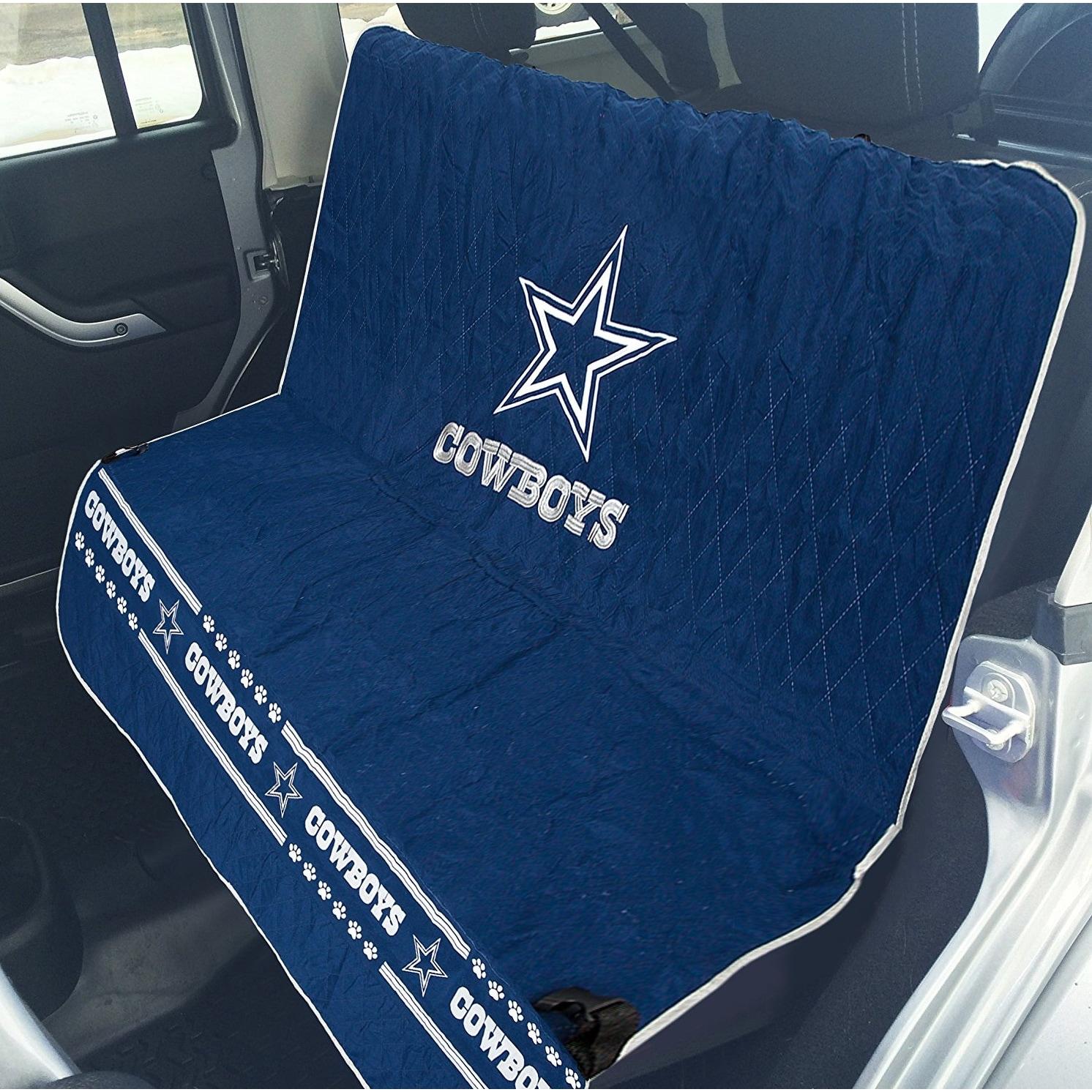 Shop Pets First NFL Dallas Cowboys Pet Car Seat Cover