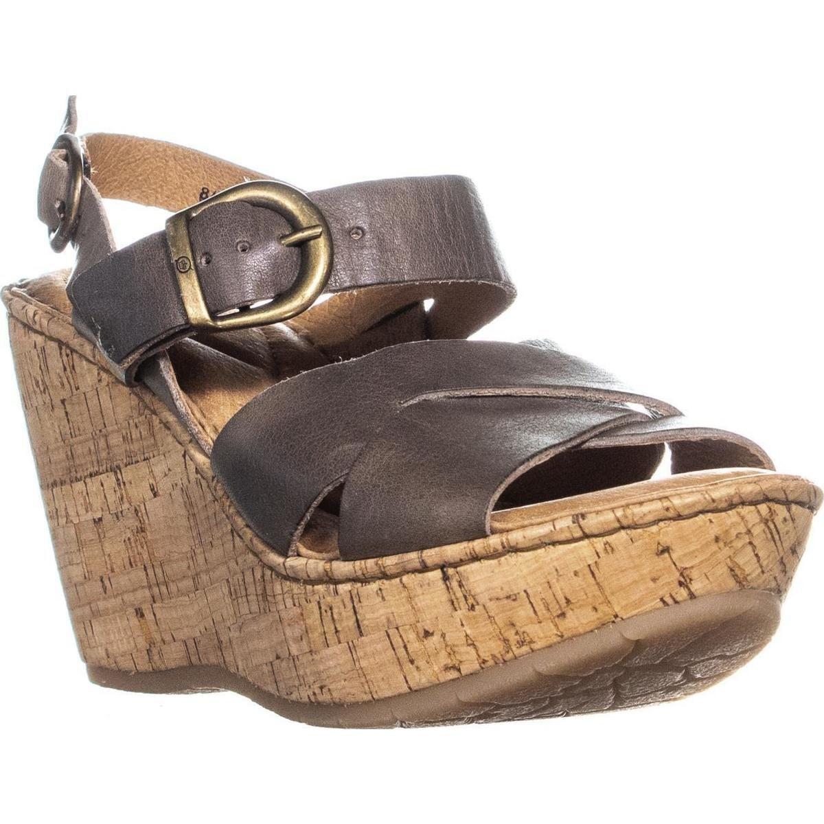 e68c32fc3ae Shop Born Emmy Quarter Wedge Sandals