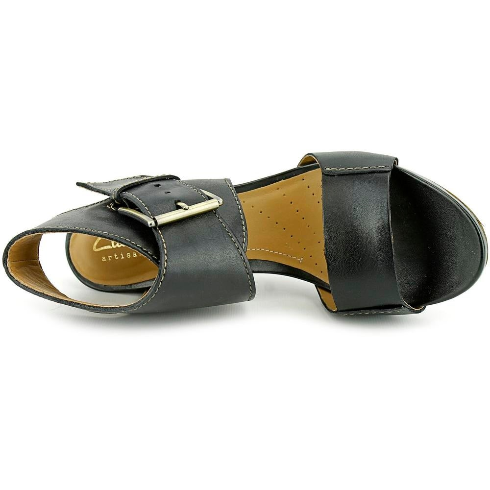 f8c5ebc2f2e Shop Clarks Artisan Okena Mod Open Toe Leather Sandals - Free Shipping On  Orders Over  45 - Overstock.com - 14447621