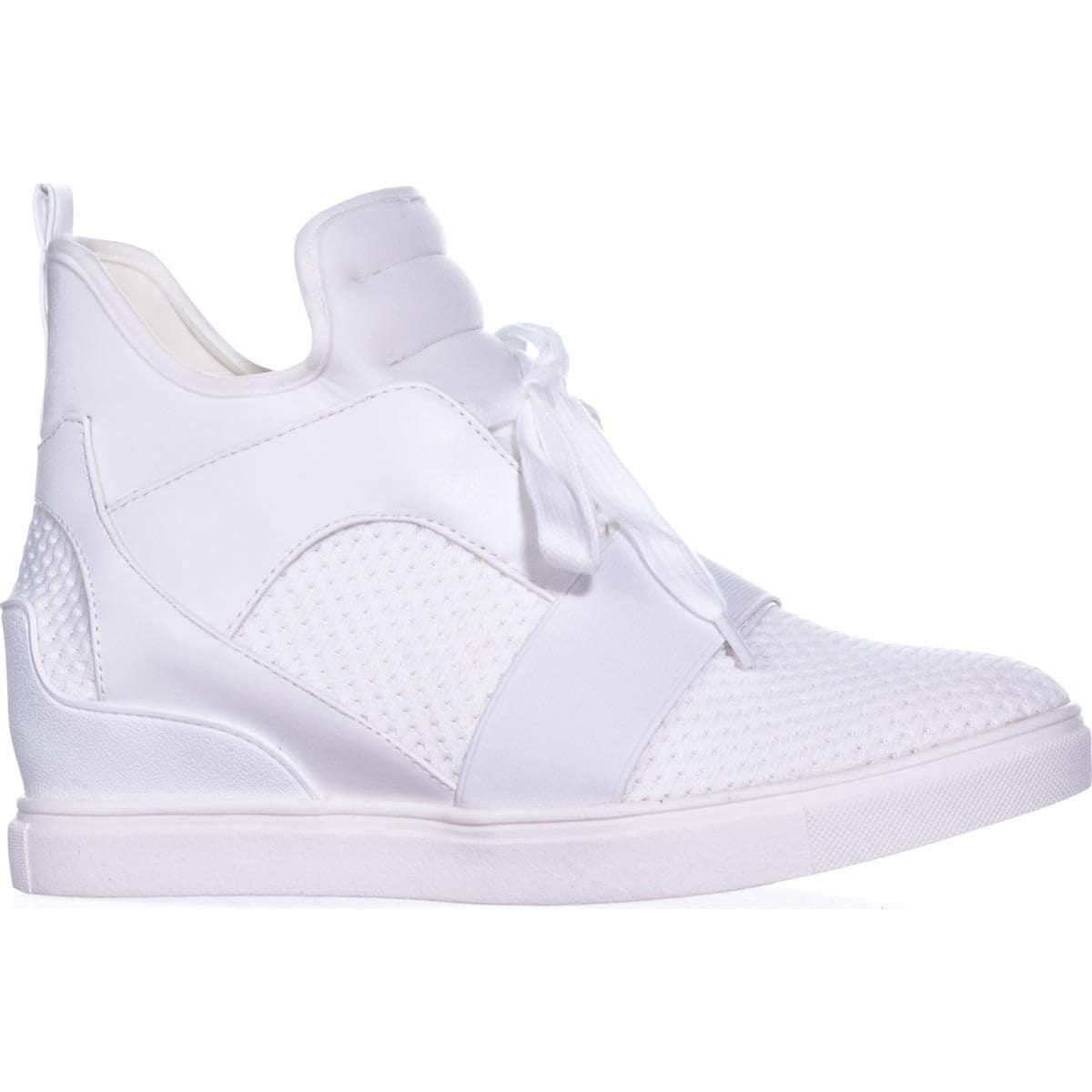 e12eae54fa0 Steve Madden Lexi High Top Fashion Sneakers, White