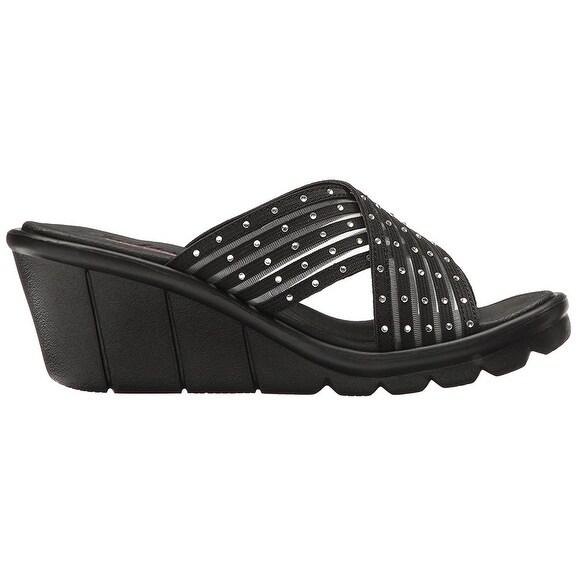 670d9e0590b9 Shop Skechers Cali Women s Promenade Star Light Wedge Sandal
