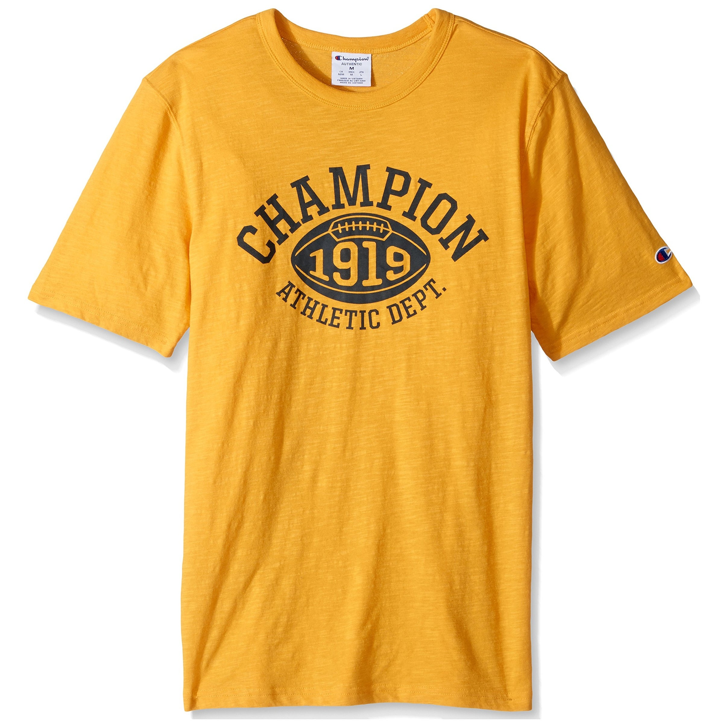 53d5dcfa Shop Champion Mens Short-Sleeve Athletic Crewneck T-Shirt $25 - On Sale -  Free Shipping On Orders Over $45 - Overstock - 26986180