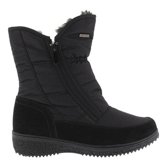 86212a835689 Shop Spring Step Women s Ernestina Winter Boot Black Nylon - Free Shipping  Today - Overstock - 18102706