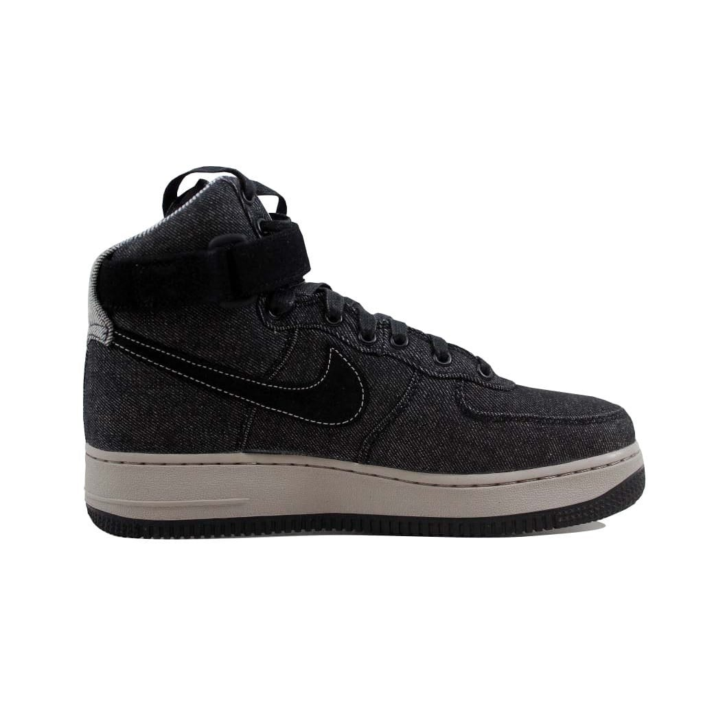 info for 835a7 be5f6 Shop Nike Women s Air Force 1 Hi SE Black Dark Grey-Cobblestone Denim 860544 -003 - Free Shipping On Orders Over  45 - Overstock - 22546846