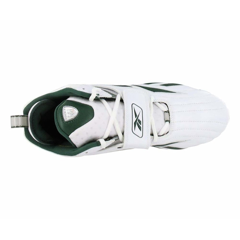 a816df882607 Shop Reebok Mens Pro Full Blitz strap D3 Fabric Low Top Lace Up Soccer  Sneaker - White Green - 11 - Free Shipping On Orders Over  45 - Overstock -  25587919