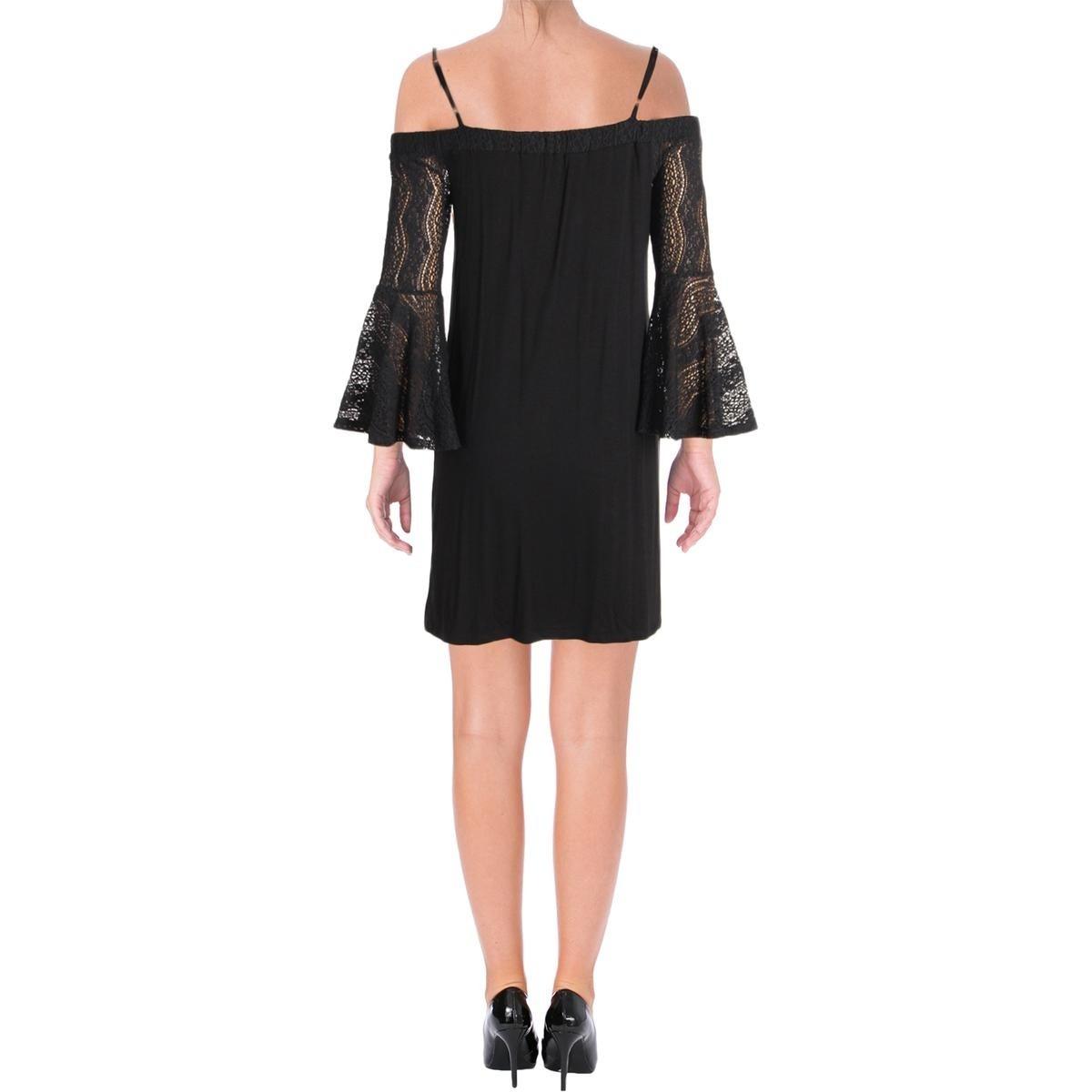 f68aa734ac0 Ella Moss Womens Bella Casual Dress Jersey Off the Shoulder