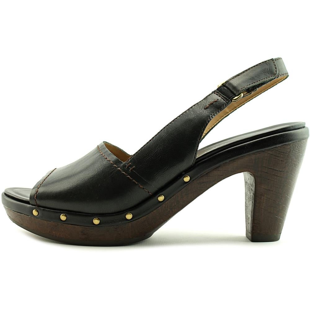 a6784a4b5b2 Shop Naturalizer Honey Women N S Open Toe Leather Black Platform Sandal -  Free Shipping On Orders Over  45 - Overstock - 18081358