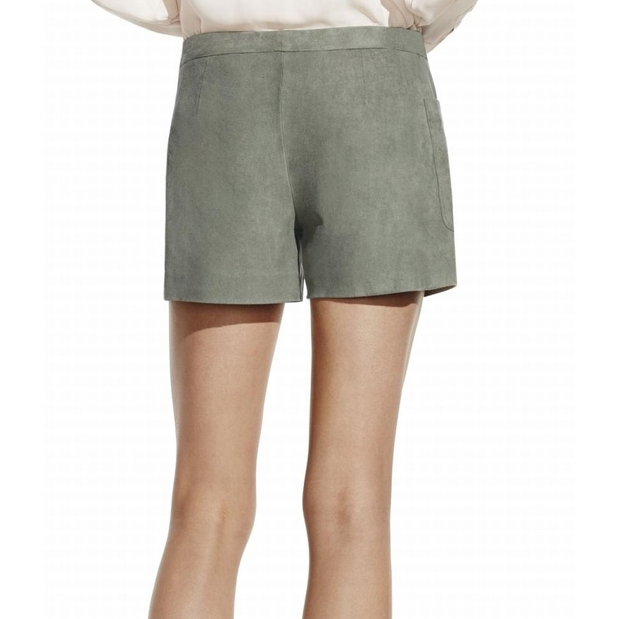 5321bf3ae0 Shop Vince Camuto Green Women's Size 12 Faux-Suede Mis-Rise Shorts ...