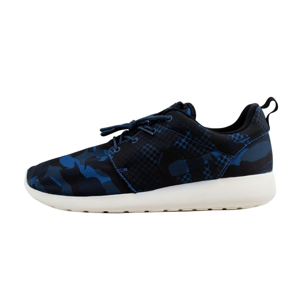 79e44f06bdc Shop Nike Men s Roshe One Print Brigade Blue Black-Squadron Blue-Obsidian  655206-404 - Free Shipping On Orders Over  45 - Overstock - 22919223