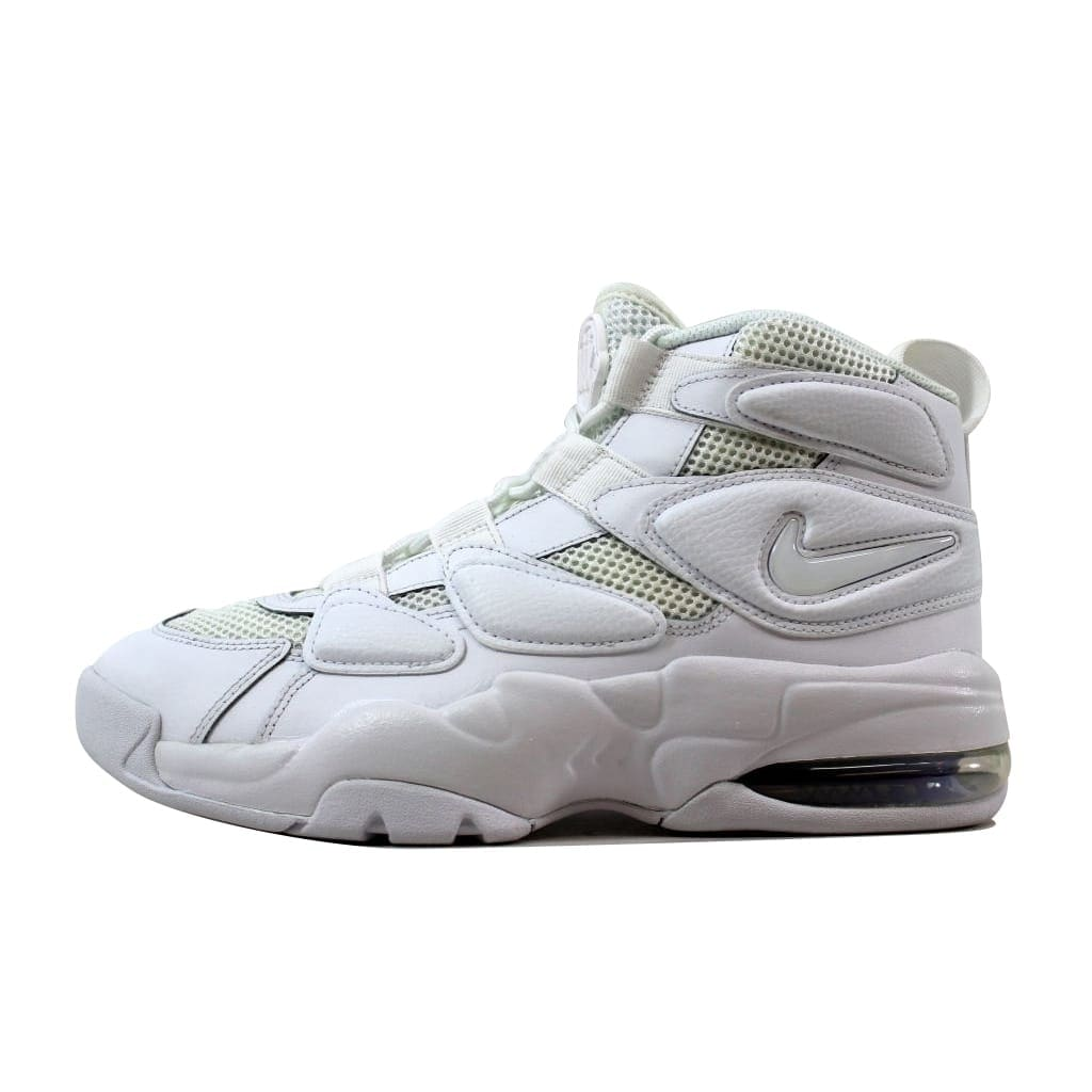 e3ba4b21f86d51 Shop Nike Men s Air Max2 Uptempo  94 White White 922934-100 - Free Shipping  Today - Overstock - 21141281