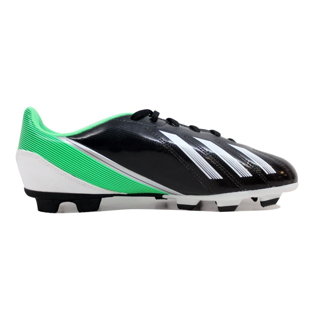 sports shoes f7772 8b565 Shop Adidas Grade-School F5 TRX FG J BlackWhite-Green G65430 Size 5.5Y -  On Sale - Free Shipping On Orders Over 45 - Overstock.com - 20129210