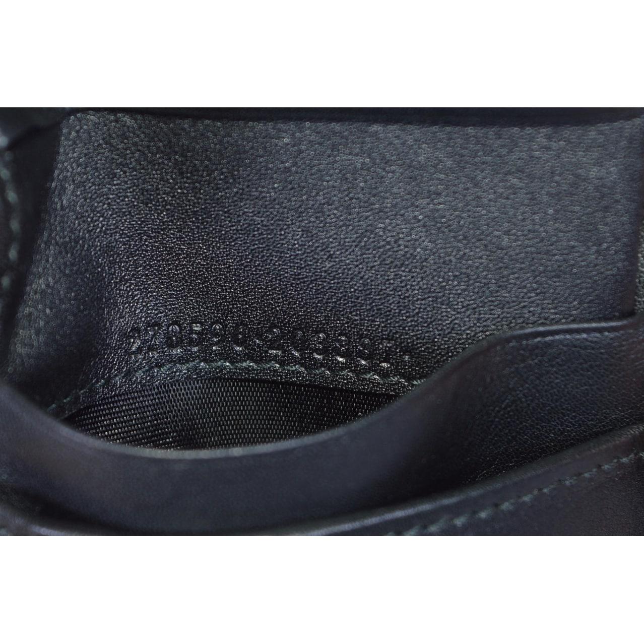 934962d3361e Shop Gucci Men's 278596 Black Micro GG Guccissima Large Bifold Wallet - 5