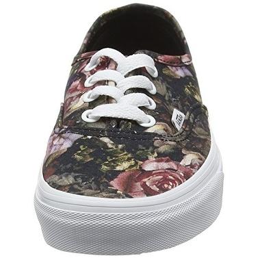 6d3358f5a8 Shop VANS Moody Floral Authentic Black True White VN0004MLJOU Mens ...