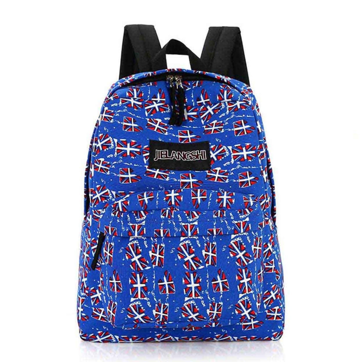 Shop Women Girl Canvas Rucksack Backpack School Bag Book Shoulder Bag -  Free Shipping On Orders Over  45 - Overstock.com - 23489738 522d83842c