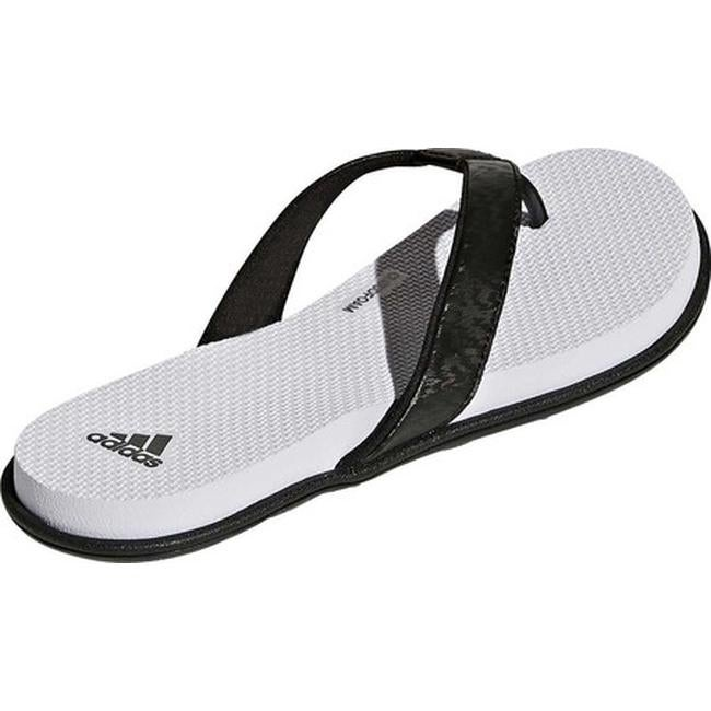 promo code 4c712 de7f8 Shop adidas Womens Cloudfoam One Y Thong Sandal BlackBlackAero Blue -  Free Shipping On Orders Over 45 - Overstock - 19738937