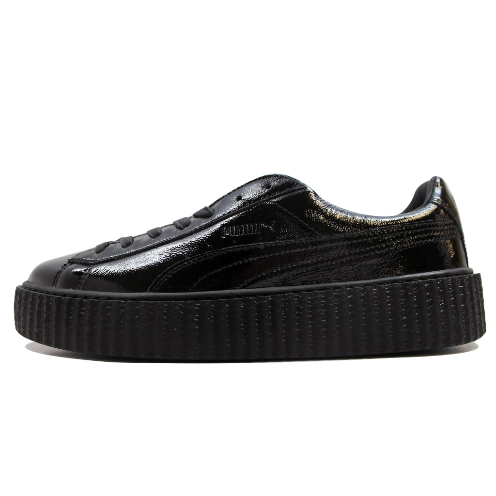 dc82edd222b4 Puma Men s Creeper Cracked Leather Puma Black Puma X Fenty Rihanna  364641-01 Size 12