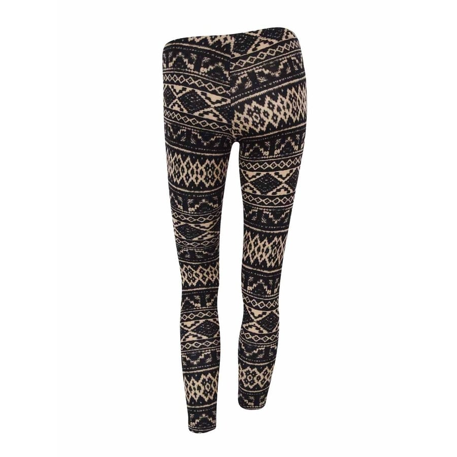 4257e43dc6841a Shop Ultra Flirt Juniors Printed Soft Knit Leggings - On Sale - Free  Shipping On Orders Over $45 - Overstock - 15966565