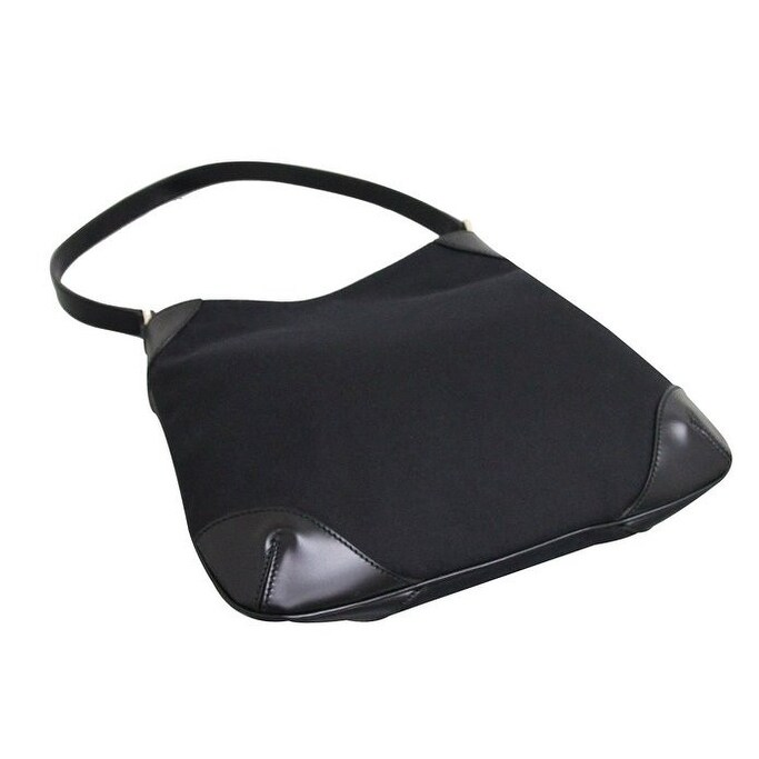 73986478f04 Shop Gucci Capri Black Canvas Hobo Shoulder Bag - Free Shipping Today -  Overstock - 15422022