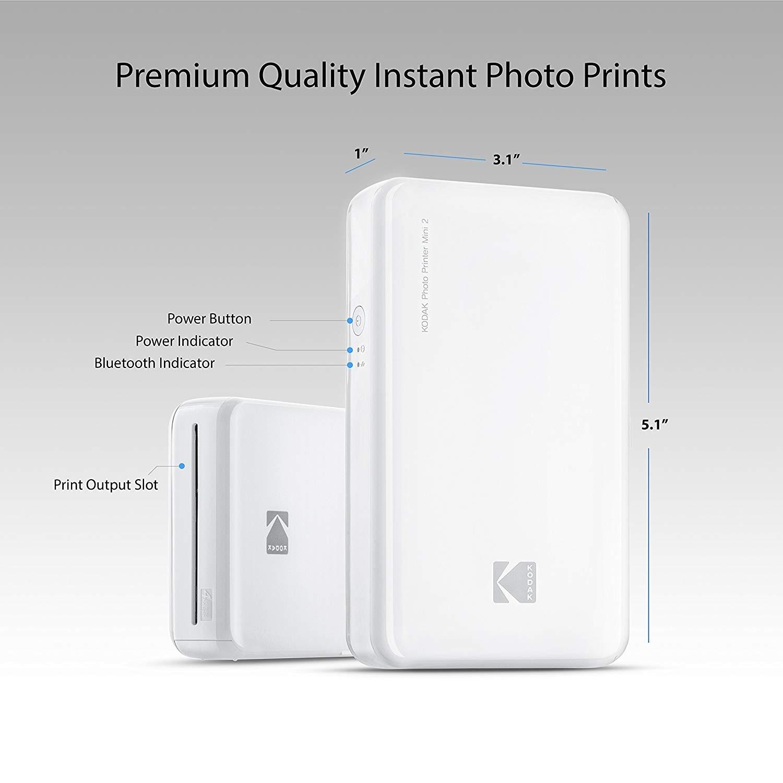 Shop Kodak Mini 2 Hd Wireless Portable Mobile Instant Photo Printer