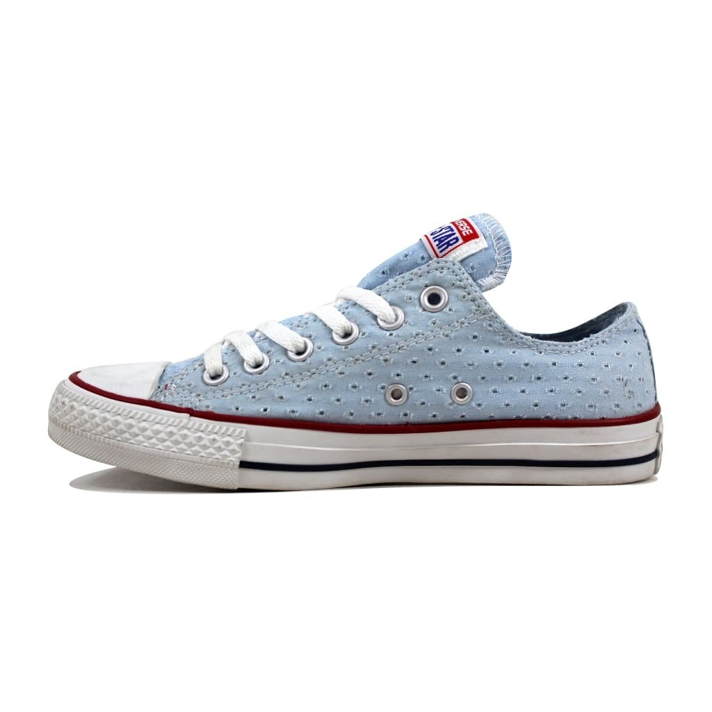 dd54bbd89dcd Shop Converse Women s Chuck Taylor Ox Fountain Fountain Blue 547294F - Free  Shipping On Orders Over  45 - Overstock - 23436805