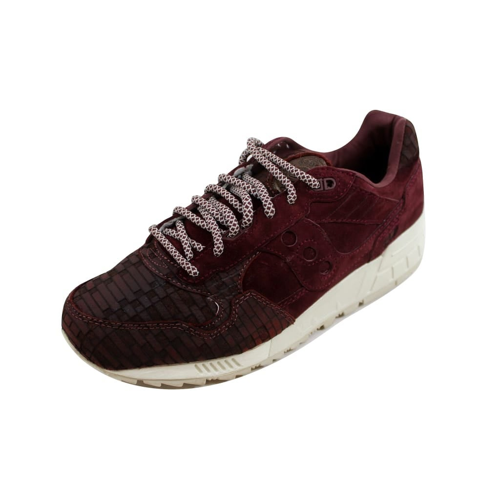 online retailer 617b1 45e74 Saucony Men's Shadow 5000 Maroon Bricks S70339-1
