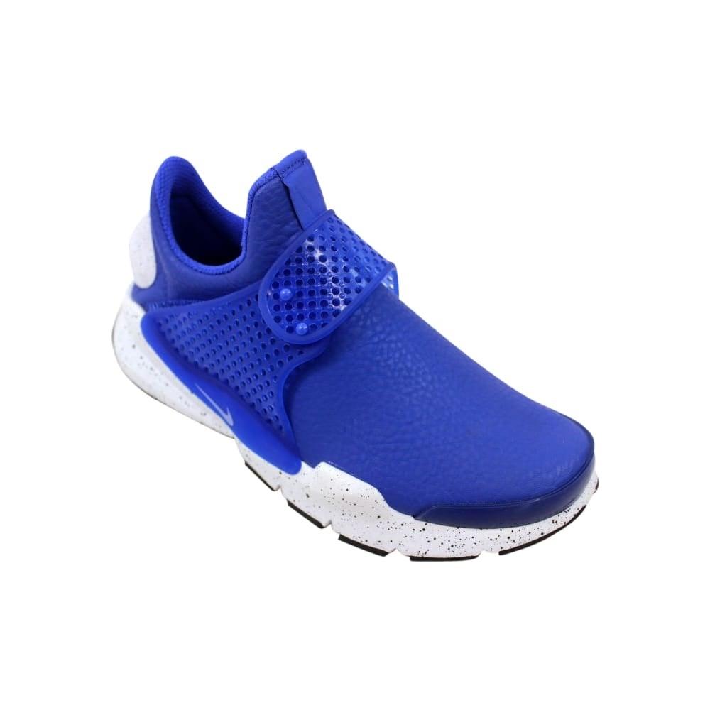 premium selection 874f8 f1e9a Shop Nike Sock Dart Premium Paramount Blue White-Black 881186-400 Women s -  Free Shipping Today - Overstock - 27993529