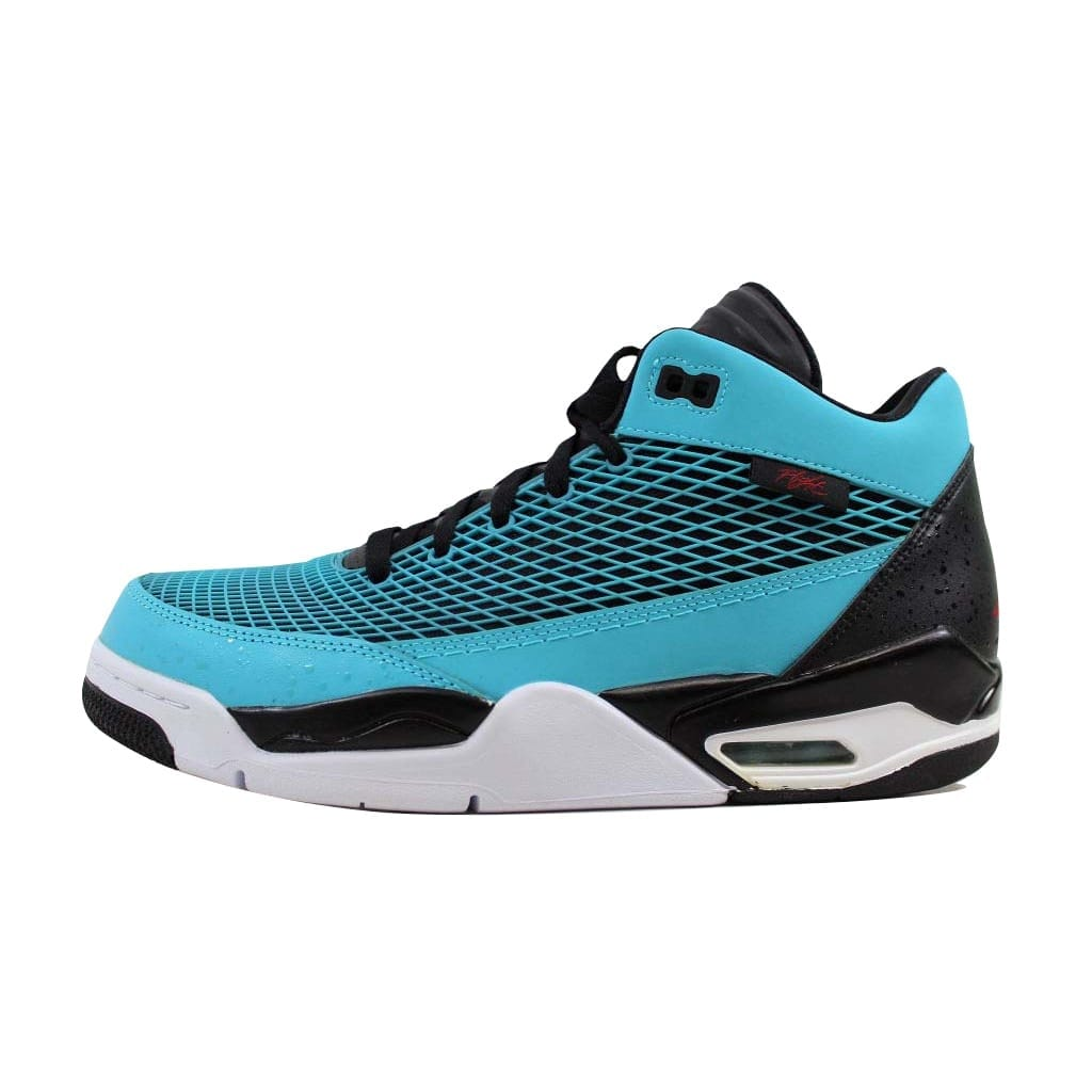 9649c32b61355 Shop Nike Men s Air Jordan Flight Club 80 s Gamma Blue Gym Red-Black 599583- 402 - Free Shipping Today - Overstock - 22340490