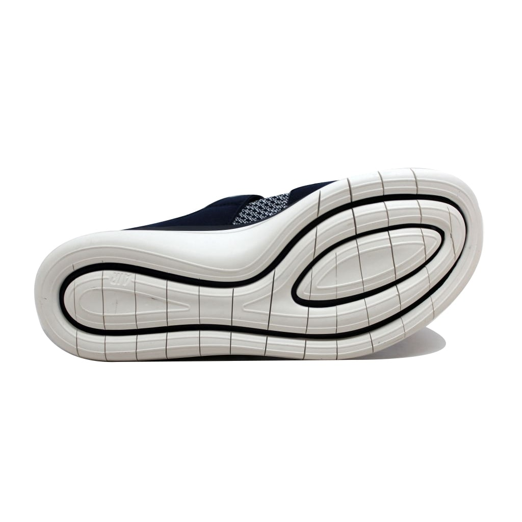 9fa3d10f6f27 Shop Nike Women s Sockracer Flyknit Colleg Navy College Navy-Sail  896447-400 - Free Shipping Today - Overstock - 20129411