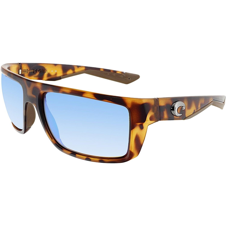 e9eb32ccd3 Shop Costa Del Mar Polarized Motu MTU66GMGLP Brown Rectangle Sunglasses -  Free Shipping Today - Overstock - 18900293