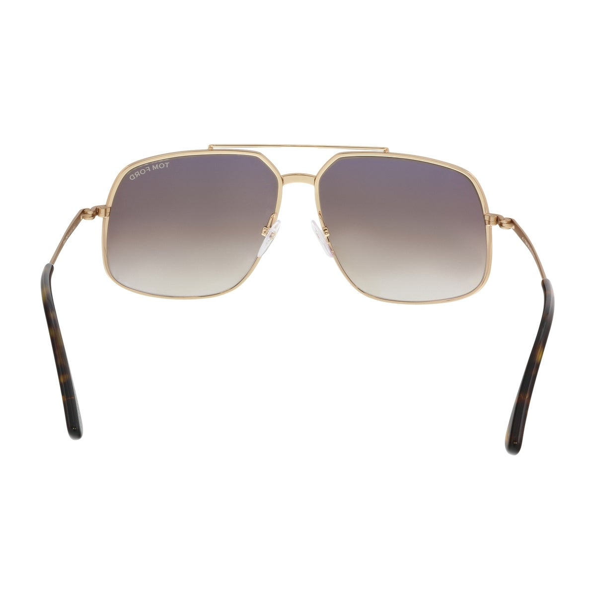 84064085b3 Shop Tom Ford FT0439 S 48F RONNIE Gold Brown Oversized Square Sunglasses -  60-13-140 - Free Shipping Today - Overstock - 19223099