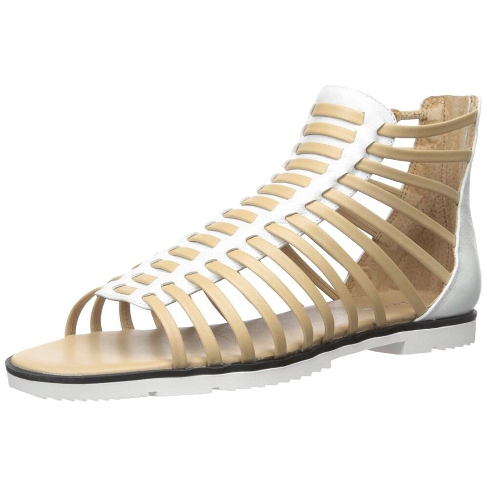 Calvin Klein Womens Maze Open Toe Casual Gladiator Sandals Black Size 60 PNck