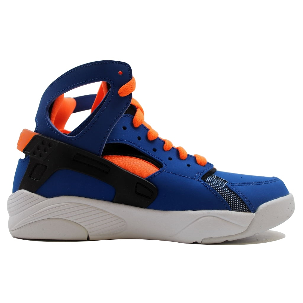 classic fit ceff8 d54d3 Shop Nike Grade-School Flight Huarache Game Royal Total Orange-Black-White  705281-400 - Free Shipping On Orders Over  45 - Overstock - 19508119