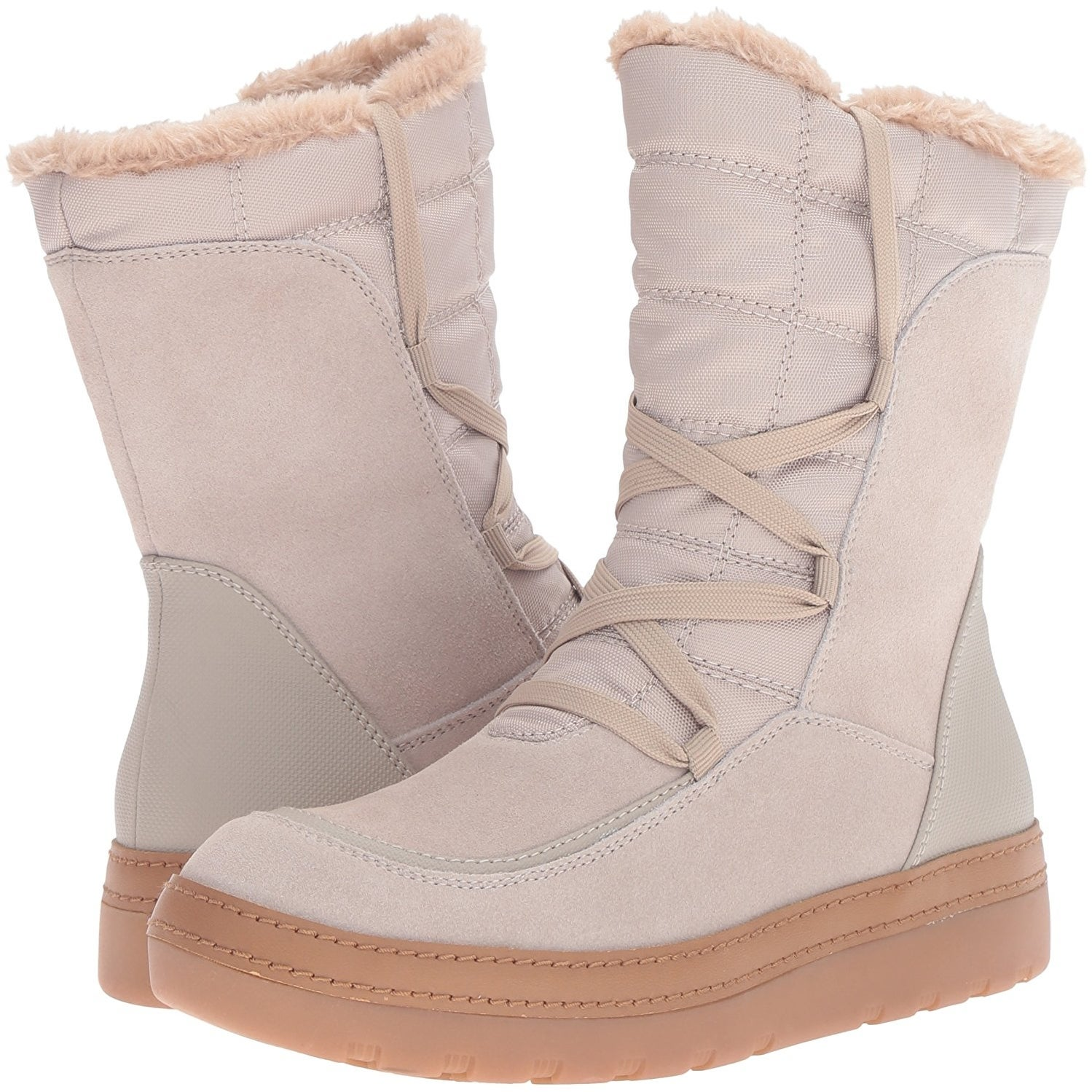 81b66a0eb2bb Shop Bare Traps Womens Lancy Closed Toe Mid-Calf Cold Weather Boots - Free  Shipping On Orders Over  45 - Overstock - 16703142