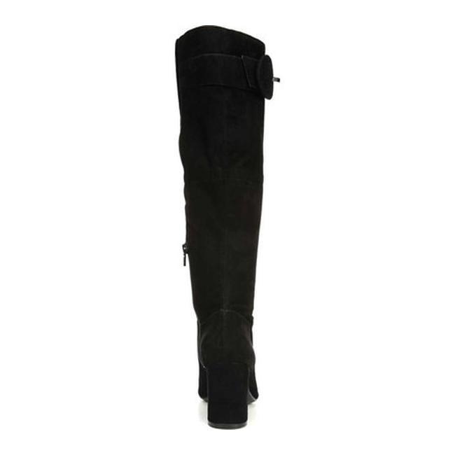 44aeb0c75f4 Naturalizer Women's Harlowe Knee High Wide Calf Boot Black Suede